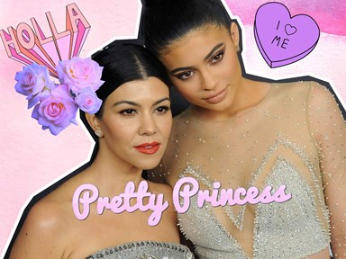 Kylie Jenner and Kourtney Kardashian face-swap and we're having nightmares