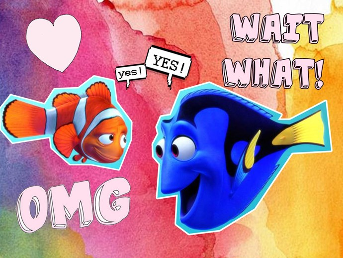 Finding Dory trans character