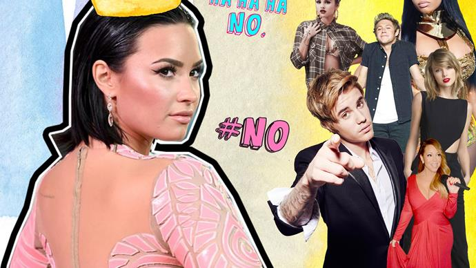 Every single celebrity who's been dragged by Demi Lovato