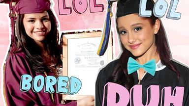 Watch this girl walk out of her graduation for the most hilarious reason ever