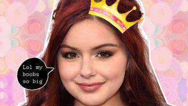Ariel Winter is obsessed with this photoshopped pic of herself