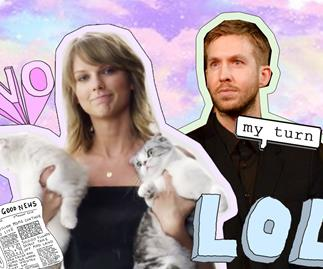 Taylor Swift, Calvin Harris breakup song