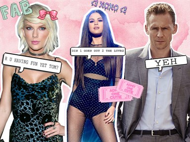 Taylor Swift and Tom Hiddleston are showing MAJOR PDA at a Selena Gomez concert