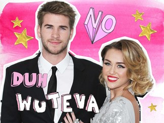 Liam Hemsworth, Miley Cyrus