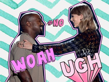 Taylor Swift is FUMING over that very nekkid Kanye West music video