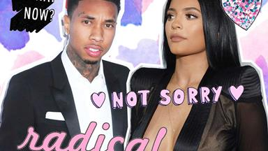 Tyga's birthday present for Kylie Jenner will make you either roll your eyes or fake smile