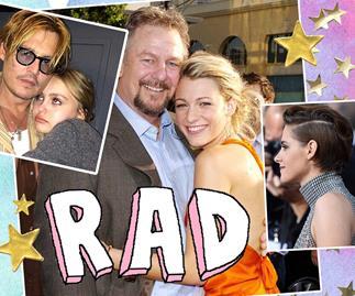 Celebrites with famous parents
