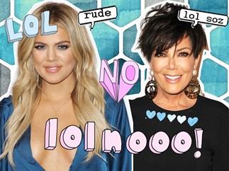 Kris Jenner, Khloé Kardashian