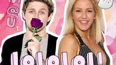 Did Niall Horan just friendzone Ellie Goulding online?