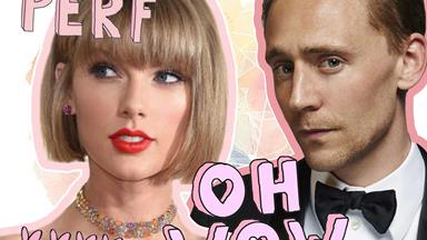 Taylor Swift and Tom Hiddleston are really putting on a PDA performance in Rome