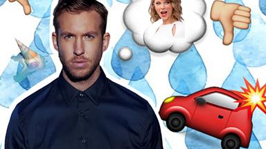 UPDATE: Calvin Harris has a message for the paps who made him crash his car…