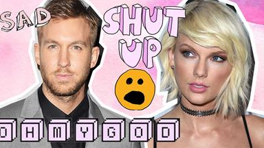Calvin Harris posts a cryptic snapchat with a very ~interesting~ caption