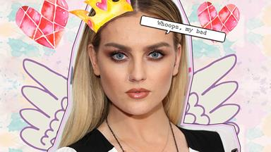 Fans are HATING on Perrie Edwards for kissing a girl on Live TV