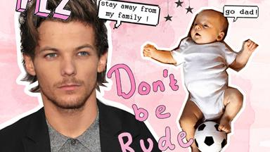 Louis Tomlinson has waged a war against paparazzi during his custody battle