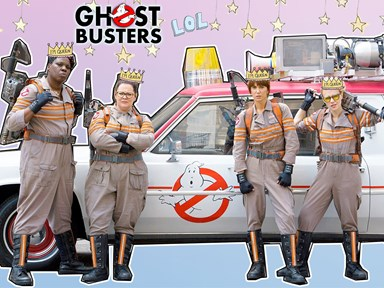 12 reasons why you'd be stupid not to go see Ghostbusters