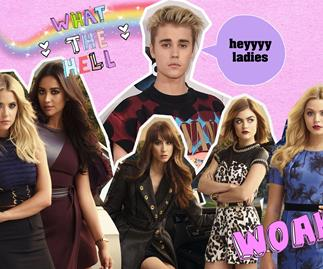 Justin Bieber spent his July 4th hanging with one of the PLL girls