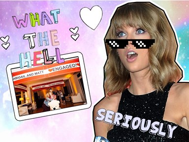Taylor Swift is giving us so many ~subliminal messages~ in this loved-up IG photo