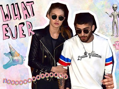 Gigi Hadid fears Zayn's mental health is on a downward spiral, apparently