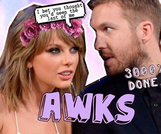 Taylor Swift, Calvin Harris July 4th Instagram
