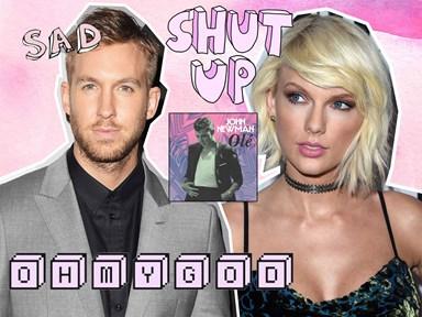 Calvin Harris has 3000% written a breakup song about Taylor Swift