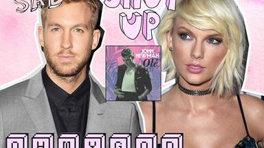 Calvin Harris has 3000% written a breakup song about Taylor Swift
