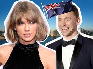 Taylor and Tom in Australia