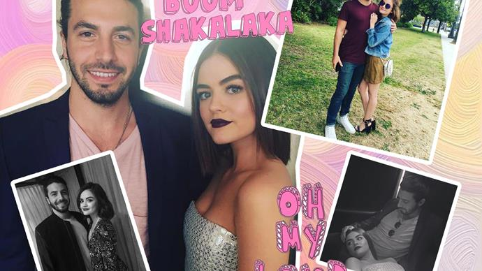 Lucy Hale engaged