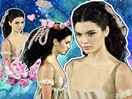 Kendall Jenner is giving us SO many fairy-princess vibes in her latest catwalk show