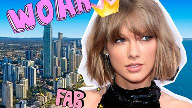 This Aussie newspaper was bloody excited to have Taylor Swift Down Under