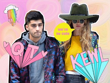 Zayn and Gigi show off an insane amount of PDA in this latest snap