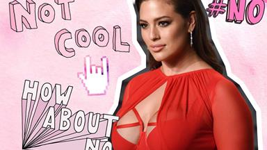 "Ashley Graham just hit back at trolls who called her thighs ""cellulite city"""