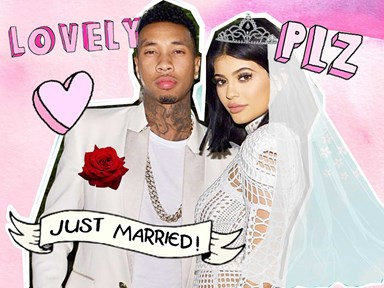 Here's what Kylie and Tyga's wedding would look like...