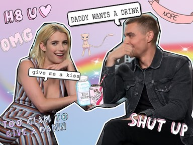 Emma Roberts and Dave Franco pull the meanest prank on reporters