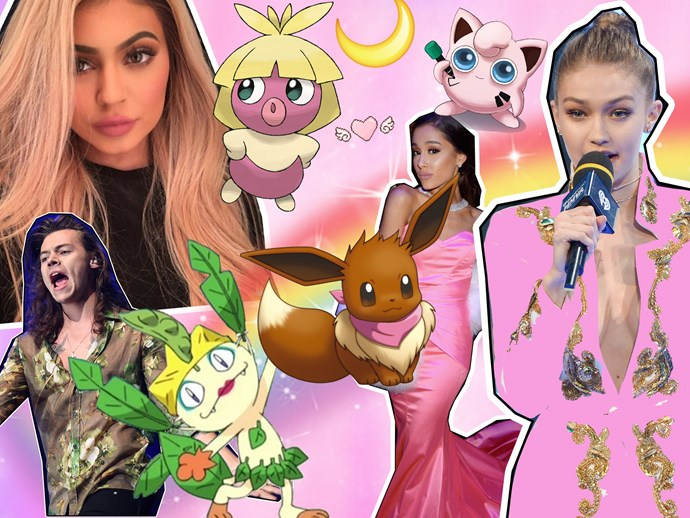 Pokémon celebrities