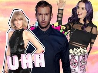 Katy Perry, Taylor Swift, Calvin Harris