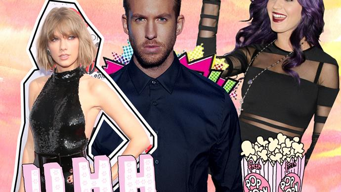 Katy Perry, Taylor Swift, Calvin Harris