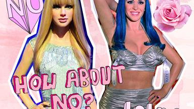 These celeb wax figures are hilariously NOT on point