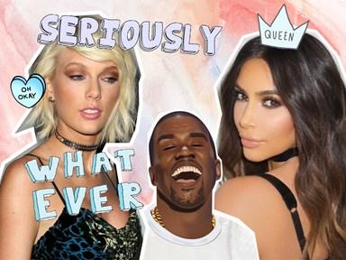 Kim Kardashian blasts Taylor Swift on 'KUWTK' and Kourtney totally agrees