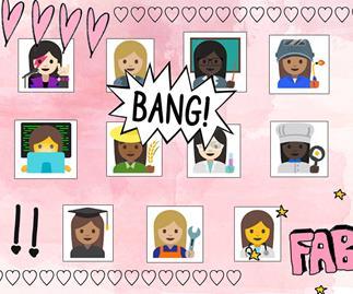 Female career emojis