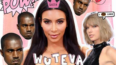 Kim Kardashian continues to epically shade Taylor Swift on Twitter