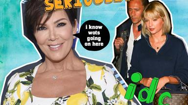 Kris Jenner gives her verdict on whether Hiddleswift is legit or not