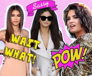 Zendaya, Selena, Demi