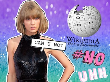 Meanwhile, Taylor Swift's Wikipedia profile has been hacked by an aggressive Kimye supporter