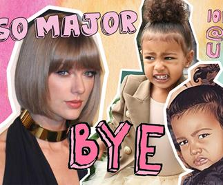 Taylor Swift, Abigail Anderson, North West