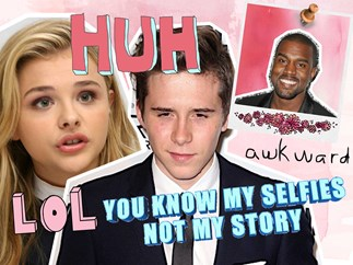 Brooklyn Beckham, Chloe Grace Moretz, Kanye West