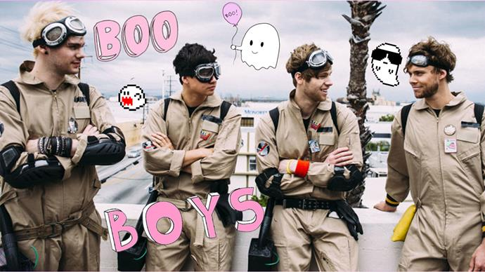 5SOS ghostbuster Girls Talk Boys