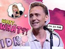 Tom Hiddleston talks about Taylor Swift for the first time since the Kimye drama