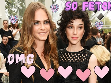 Get your confetti ready coz Cara Delevingne might be engaged!