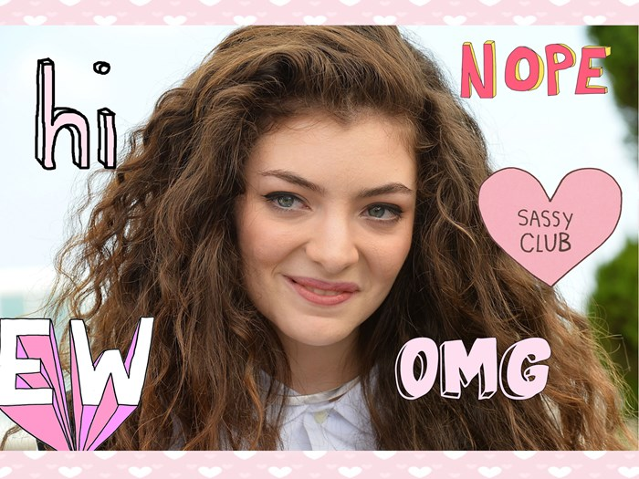 Lorde was savagely snubbed by her Uber driver, Live Tweeted EVERYTHING