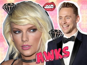 Tom Hiddleston goes home to console Taylor Swift for VMAs